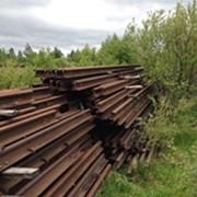 Scrap used Crane Rails фото