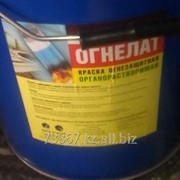 Огнезащитная краска Огнелат фото