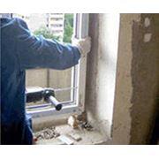 Монтаж металлопластиковых окон и дверей фото