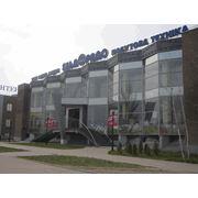"""Выставочный салон г. Днепропетровск объект выполненный из профилей """"ТЕКНО"""" фото"""