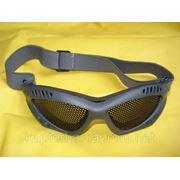 Очки защитные сетчатые. фото