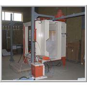 Нанесение метало порошкового покрытия.Порошковая покраска металлоизделий. фото