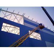 Строительство быстровозводимых зданий и сооружений из металлоконструкций с использованием термопрофилей и ЛСТК. Инженерные работы. фото