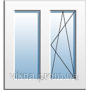 Пластиковые окна WDS на продажу, однокамерный энергосберегающий фото