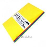 Бумага цветная, A4, 5 цветов ассорти 250 листов RB-02 фото