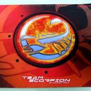 Коврик игровой Team Scorpion G-REAVER, красный, 32х23см фото