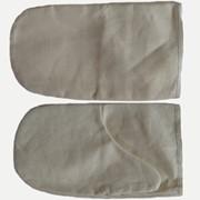 Пошив рукавиц рабочих хлопчатобумажных (двунитка) с двойным наладонником фото