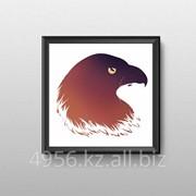 Картина Красная книга беркут, 30x30, 000027 фото