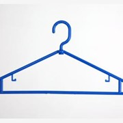 Вешалка пластмассовая, тремпель, плечик, вішалка универсальная Y-1, длина/ширина плеча 41/1 см, пр-во Пласт-системы, г. Хмельницкий, Украина фото