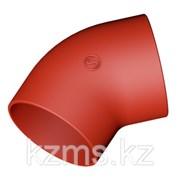 Безраструбный короткий отвод 45 гр 250 ВЧШГ Pam Global фото
