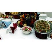 Услуги по проведению фуршетов конференций кофе-брейков фото