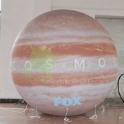 Надувная планета диаметром 3.5 м фото