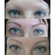 Перманентный макияж (татуаж) брови, губы, веки, фото