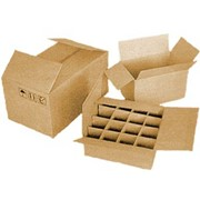 Гофротара (короба, ящики, коробки) фото