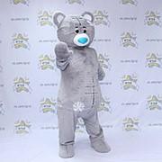 Ростовая кукла для аниматоров Медведь серый фото