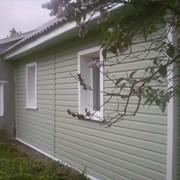 Монтаж сайдинга и водосточной системы фото