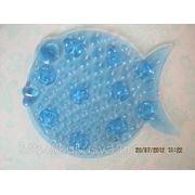 Рыбка ОРТО полуцвет синяя. Мини-коврики в ванную фото