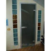 Стеклянные двери фото