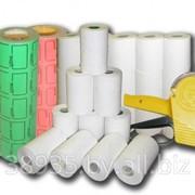 Этикет-ленты, этикет-пистолет, кассовые термоленты. фото