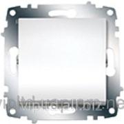 Выключатель ZENA модуль белый 609-010200-200 фото