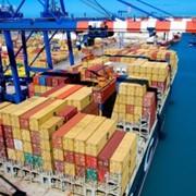 Международные морские контейнерные грузоперевозки фото