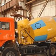 Бетоносмесительные установки объемом смесительного барабана 5, 6, 7куб. м на шасси КрАЗ, КамаЗ, МАЗ фото