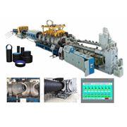 Автоматическая линия для производства ПВХ гофрированных труб фото