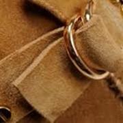 Химчистка изделий из кожи и замши. фото