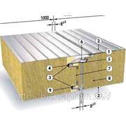 Сендвич-панель Ruukki SP2D W (Isotherm PLUSw) для стен, 100 мм, наполнение мин. вата фото