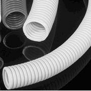 Электромонтажные трубки и принадлежности: трубки гибкие трубки жесткие раструбные трубки для защиты оптического кабеля - HDPE трубки из стального материала фото