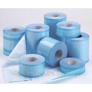 Стерилизационная упаковка-пленка (без складок с индикаторами для пара) Стериклин ® 7,5см/200м фото