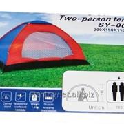 Палатка однотентовая 2-х местная фото