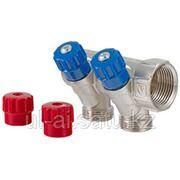 Коллектор с регулирующими вентилями и комплектом ручек