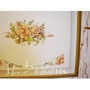 Художественная роспись мебели дверей и декорирование интерьера фото
