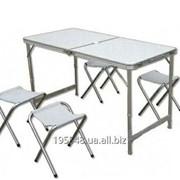 Набор туристический складной (стол+4 стула) FX-8812 фото