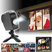 Проектор на окно Star Shower Window Projector 12 фильмов фото