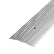 ЛУКА Порог стыкоперекрывающий ПС 07-1800-01л серебро анодир. (1,8м) 60мм фото