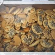слоеные, песочные печенья, круассаны фото