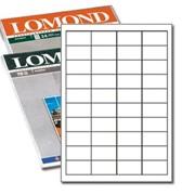 Самоклеящиеся этикетки LOMOND 38,x21,2 65/50 фото
