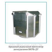 Крышный радиальный вентилятор дымоудаления с выбросом вверх Феррум фото