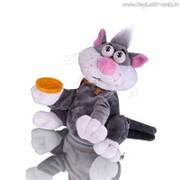 """Интерактивная игрушка-копилка Mioshi active """"Счастливый Кот"""" (26 см, звук, вращается, качает головой) фото"""