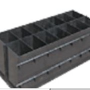 Форма металлическая для производства блоков Стандарт-4, на 14 блоков фото