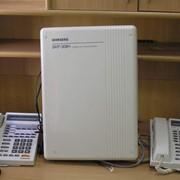 МиниАТС для дачи SAMSUNG 3/8 (3 внеших порта на 8 внутренних). Б/у. фото