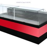 Витрина угловая НЕМИГА Cube УН 90 ВС фото
