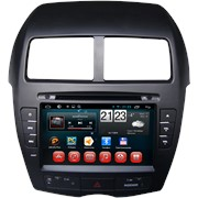 Штатное головное устройство CARMEDIA KR-8023 MITSUBISHI ASX 2010-2012 ANDROID 4.2 фото