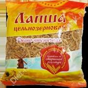 """ЛАПША цельнозерновая ржано-пшеничная """"Дивинка"""", 350г фото"""