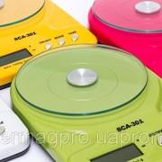 Кухонные весы до 7 кг (SCA-301) с батарейками фото