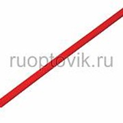 3. 5 / 1. 75 мм 1м термоусадка красная REXANT фото