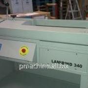 Термоклеевой биндер LamiBIND 340, 2005, торшонирование, обложка в ручную фото