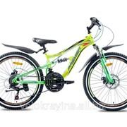 Подростковый горный велосипед Premier Legion 24 Disc 13 2016 желтый неон с белым фото